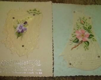 2 Pieces Of Victorian Scrap