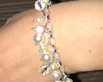 Swarovski Pearl Stirling Silver Bracelet