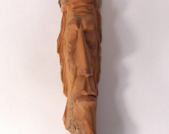 Hand Carved Tree Spirit