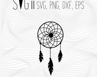 Dream Catcher Svg, DreamCatcher Svg, Svg For Silhouette, Svg For Cricut, Dream Catcher Vinyl Decal, Monogram Svg, DreamCatcher Clipart Files