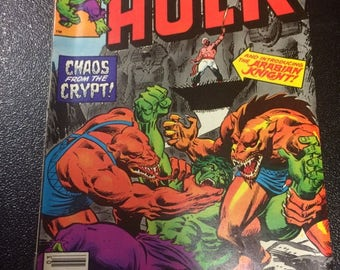 The Incredible Hulk # 257 Comic by Marvel