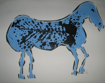 Blue Horse Series I