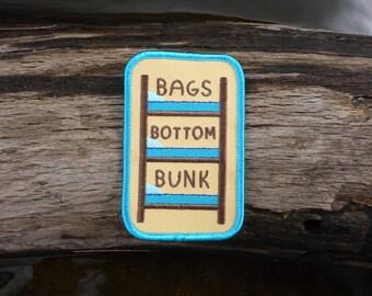 Bottom Bunk Patch