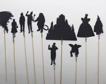 The Wizard of Oz Shadow Puppets