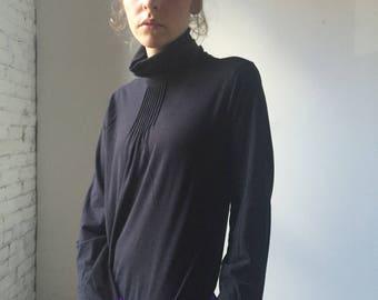 Black Calvin Klein Jeans Turtleneck
