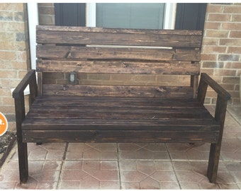 Classic Wooden Bench