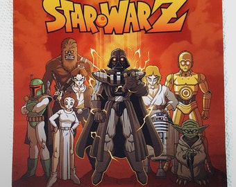 Star Wars Sublimated Print