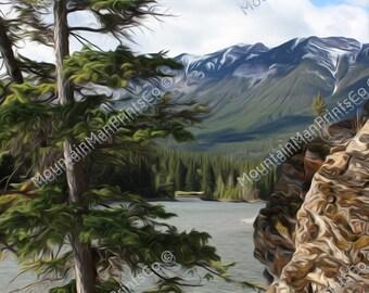 Bow River Trail Print