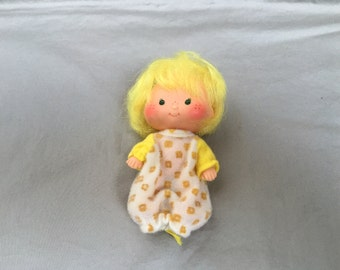 Vintage Butter Cookie Strawberry Shortcake Doll 1980s