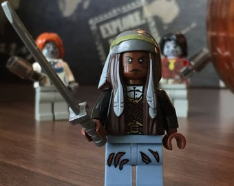 Michone The Walking Dead custom LEGO figure