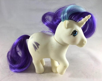 Glory Vintage G1 My Little Pony Unicorn Free Shipping in US