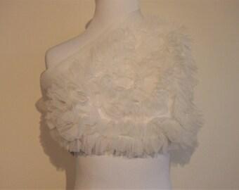 Vintage 1960's Nylon Chiffon Head Wrap; Head Wraps for Women