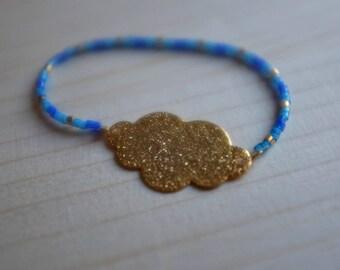 Bracelet child cloud pearls myuki