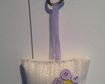 Hanging lavender pillow