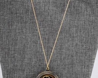 Steampunk Clockwork Locket