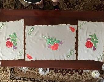 Flowery Tablecloths