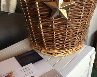 Wicker Star Basket