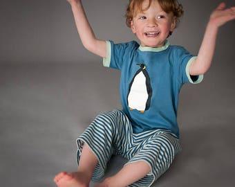 Blue Penguin - Kids Pyjamas