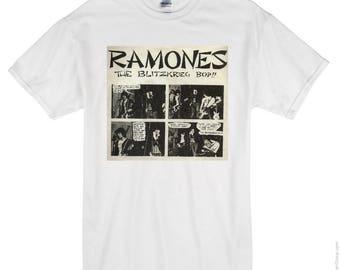 Ramones- The Blitzkrieg Bop - t-shirt