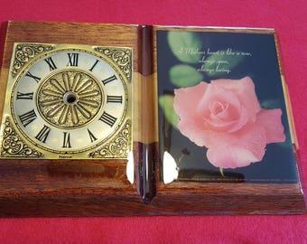 Mother's Heart Clock