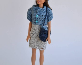 Jacket for Barbie, doll, Barbie, beanie doll clothes, clothes set Barbie, fashion doll, Barbie fashion
