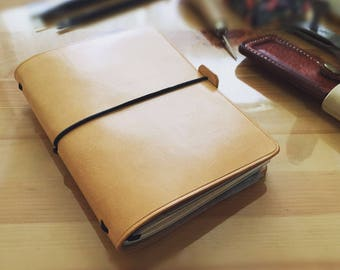 Leather Passport Cover Card Holder