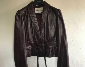 Vintage Leather Jacket Size 10