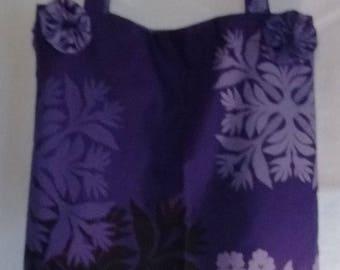 Hawaiian Bag Purple fun