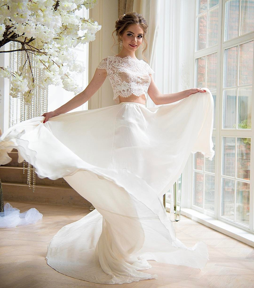 Wedding Gown Tops: Wedding Crop Top Lace Crop Top Crop Top Wedding Dress Crop