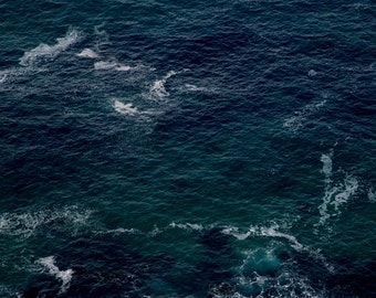 Ocean Photography Print - Ocean Print - Large Wall Art - Sea Print - Ocean Wall Art - Blue Wave Print - Ocean Waves Art Print - Water Print