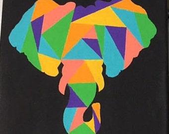 Puzzled Elephant