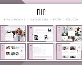 Elle - Fashion Shop & Blog Website 6 Photoshop PSD