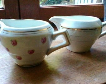 2 Milk Jugs - French vintage Céranord jugs