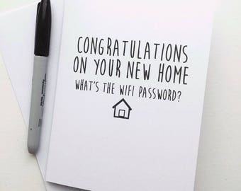 New home - Whats the wifi password?