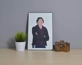 Jughead Jones | Riverdale | Digital Art | 11x17 Poster | TV Show Art | TV Show Poster | tv Art | Fandom Art | Cole Sprouse | Riverdale Art