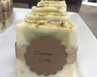Cilantro Lime Bar Soap