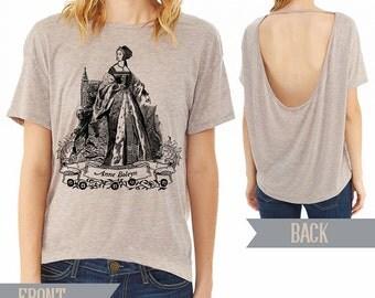 Anne Boleyn Alternative pony open back t-shirt