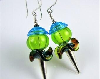 Fruity Fun Glass Earrings II