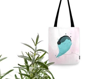 Music lover - Tote bag with art
