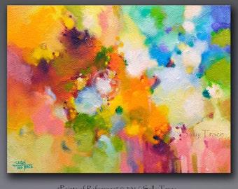 Abstract painting, mixed media pinting, acrylic painting, impasto painting, textured painting on canvas