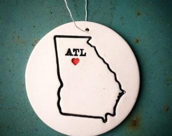 Atlanta Ornament