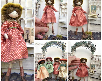 AUDREY DOLL KIT / Limited Edition / Vintage Style / by Verity Hope