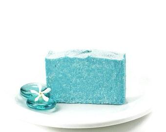 Aqua Spa Sea Salt Soap Bar | Palm Oil Free Soap, Spa Bar, Vegan Sea Salt Soap | Aqua Spa Salt Soap made with Mediterranean Sea Salt