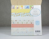 Scrapbook Paper Pad 6x6 by Crate Paper Little Boy Blue