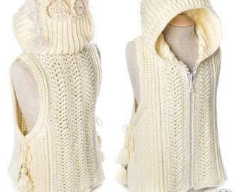 CROCHET PATTERN Owleta's Secret Vest Sizes 2-12 years PDF eBook Instant download