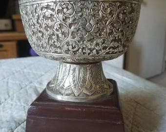 Silverstone Egyptian Revival Witch's Spell Casting Goblet