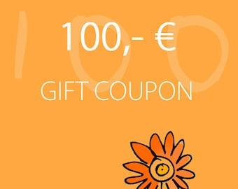 Melanie Moertel Lampwork Beads // Personalized Gift Coupon // Lampwork Beads // 100,- EURO