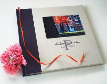 Wedding Photo Guest Book · Personalized Wedding Scrapbook · Photo Booth Guestbook · Natural Bohemian Outdoor Wedding Keepsake Photo Album