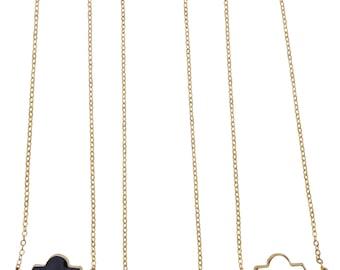 Signature Designer  Ornate Statement Necklace-You Choose Color