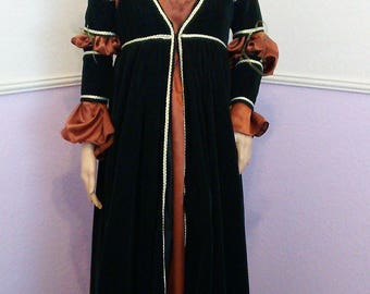Made to Order Renaissance/Medieval Gown and Overdress